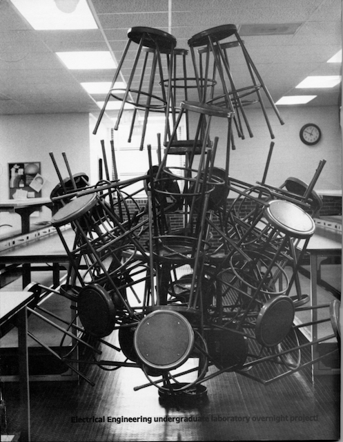 1984 Lab Stool Sculpture